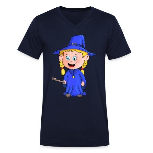 Süße Zauberin - Männer Bio-T-Shirt mit V-Ausschnitt von Stanley & Stella