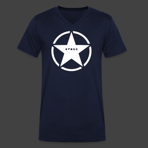 US Army Logo Panzerklassen - Männer Bio-T-Shirt mit V-Ausschnitt von Stanley & Stella