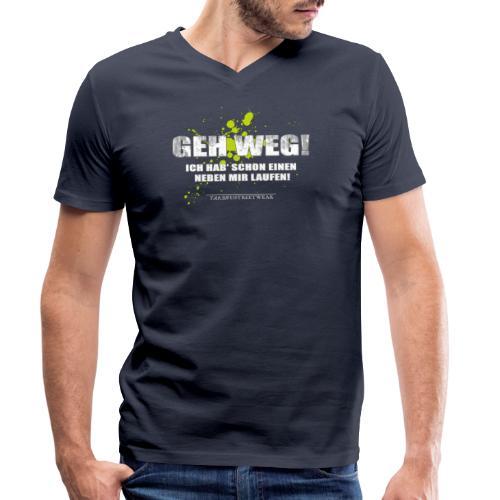 Geh weg - Männer Bio-T-Shirt mit V-Ausschnitt von Stanley & Stella