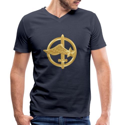 Tasse Fusiliers Commandos de l'Air - T-shirt bio col V Stanley & Stella Homme