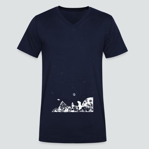 Hipster Labuversum png - Männer Bio-T-Shirt mit V-Ausschnitt von Stanley & Stella