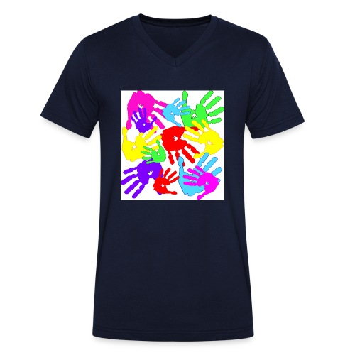 pastrocchio2 - T-shirt ecologica da uomo con scollo a V di Stanley & Stella
