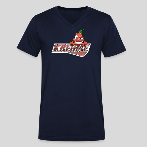 makrelmanden2 - Økologisk Stanley & Stella T-shirt med V-udskæring til herrer