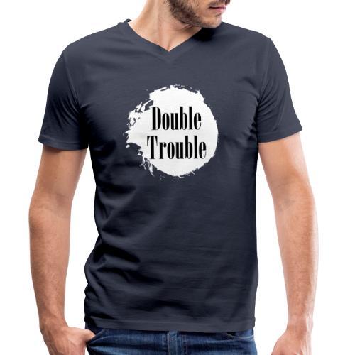Double trouble - Männer Bio-T-Shirt mit V-Ausschnitt von Stanley & Stella