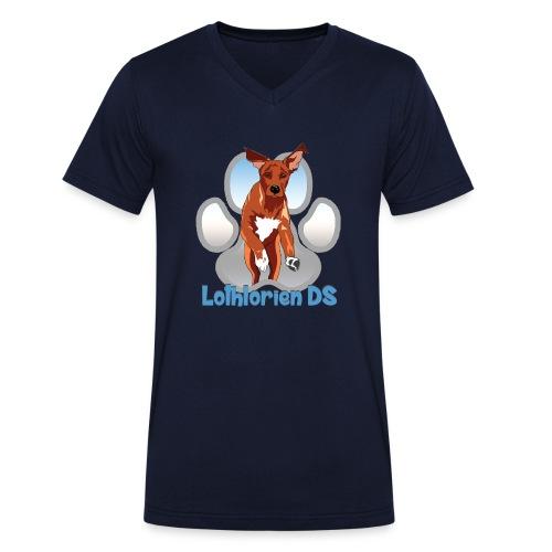 Lothlorien - Men's Organic V-Neck T-Shirt by Stanley & Stella
