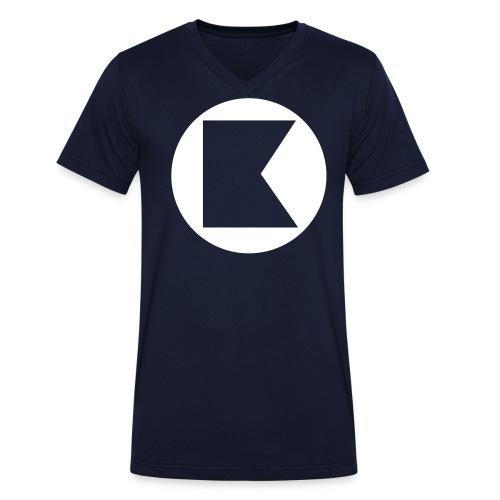 keynought [simple] - Männer Bio-T-Shirt mit V-Ausschnitt von Stanley & Stella