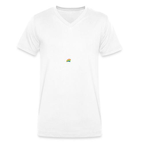 Dru - sometimes I feel like... (weisse Outline) - Männer Bio-T-Shirt mit V-Ausschnitt von Stanley & Stella
