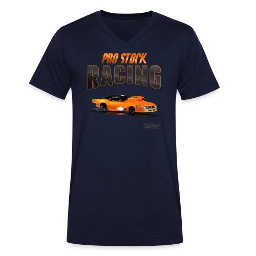 PRO STOCK CAMARO - Männer Bio-T-Shirt mit V-Ausschnitt von Stanley & Stella