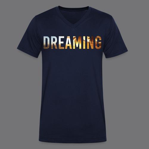 DREAMING Tee Shirts - Men's Organic V-Neck T-Shirt by Stanley & Stella
