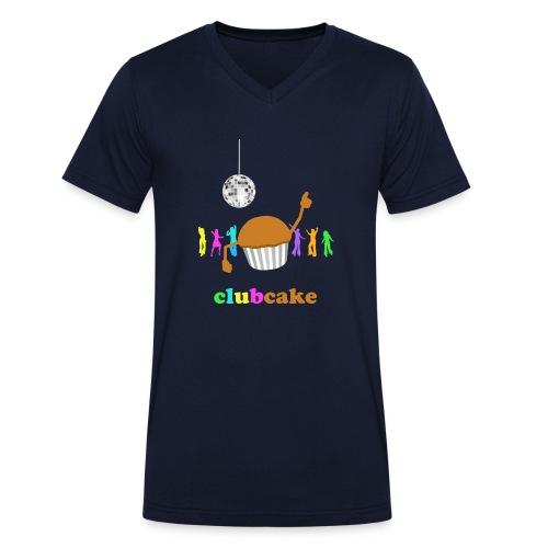 clubcake - Mannen bio T-shirt met V-hals van Stanley & Stella