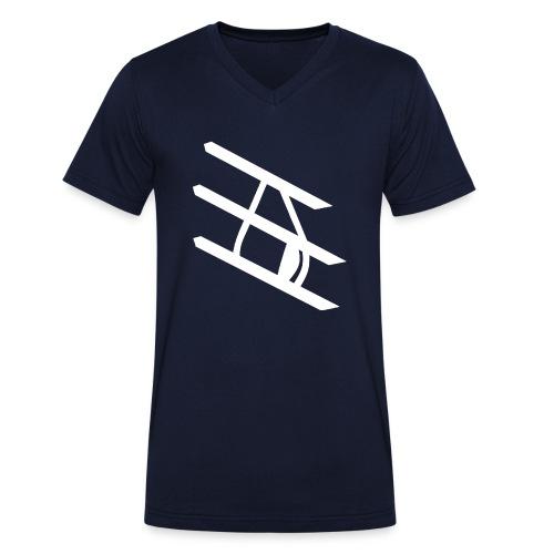Tropfen Hoodie - Männer Bio-T-Shirt mit V-Ausschnitt von Stanley & Stella