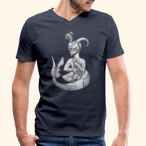 Frankensteins drake - Ekologisk T-shirt med V-ringning herr från Stanley & Stella