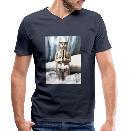 Thor - T-shirt ecologica da uomo con scollo a V di Stanley & Stella
