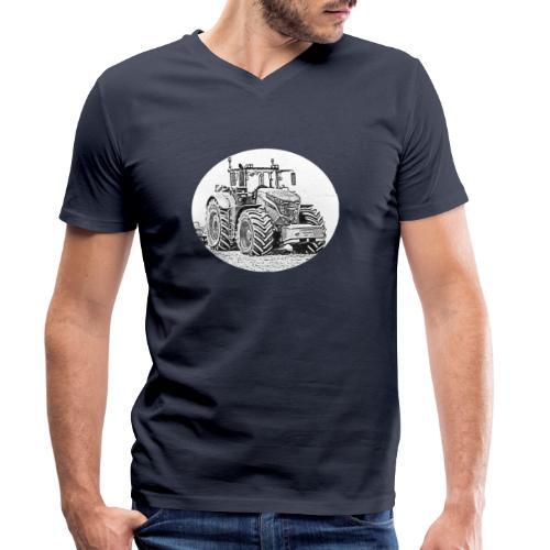 Ackergigant - Männer Bio-T-Shirt mit V-Ausschnitt von Stanley & Stella
