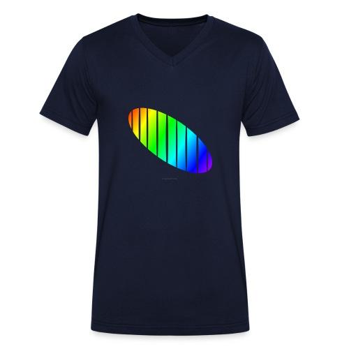 shirt-01-elypse - Männer Bio-T-Shirt mit V-Ausschnitt von Stanley & Stella