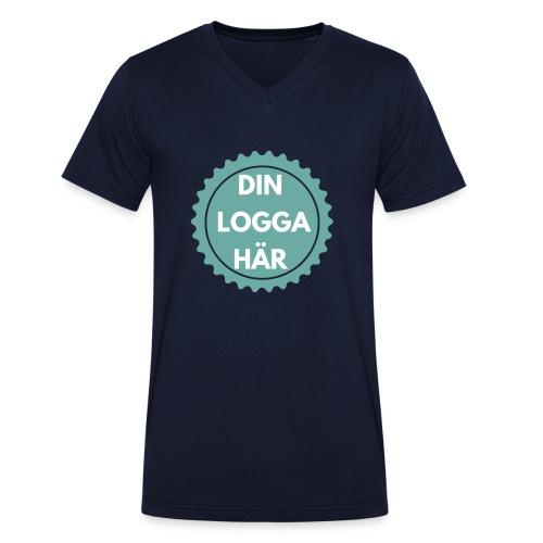 Egen Logga - Ekologisk T-shirt med V-ringning herr från Stanley & Stella
