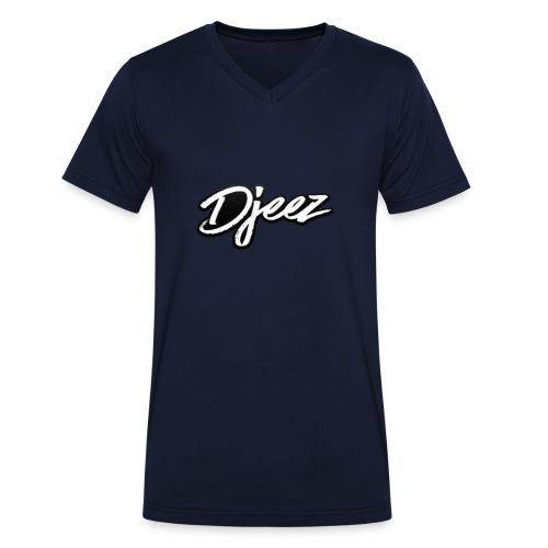 Djeez Merchandise - Mannen bio T-shirt met V-hals van Stanley & Stella