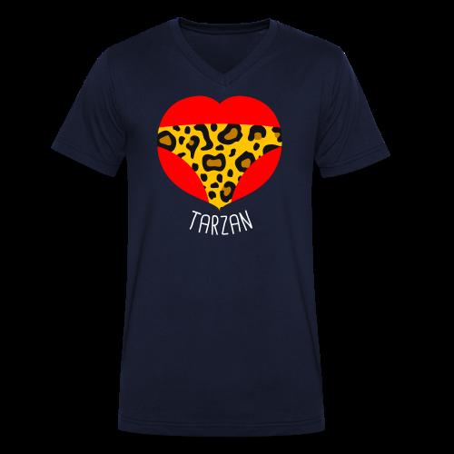 Homme de la jungle - T-shirt bio col V Stanley & Stella Homme