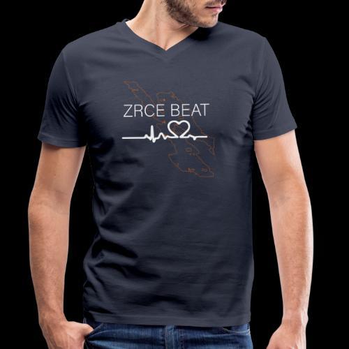 Zrce Beat - Männer Bio-T-Shirt mit V-Ausschnitt von Stanley & Stella