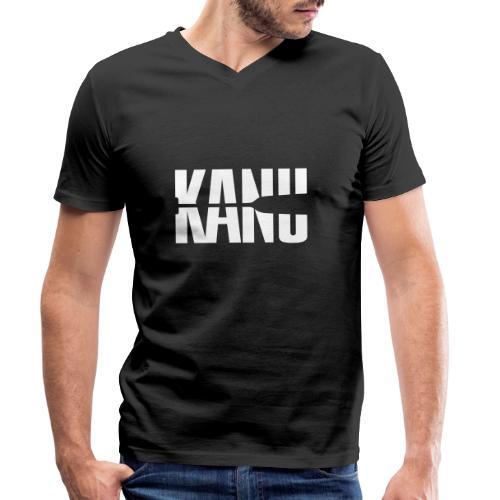 Kanu Kanute Wassersport Paddel 1c - Männer Bio-T-Shirt mit V-Ausschnitt von Stanley & Stella