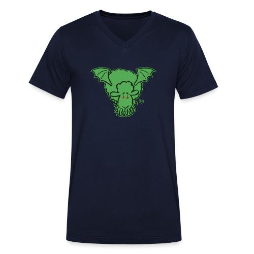 Pecora Cthulhu - T-shirt ecologica da uomo con scollo a V di Stanley & Stella