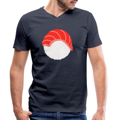 SUSHI THON - T-shirt bio col V Stanley & Stella Homme