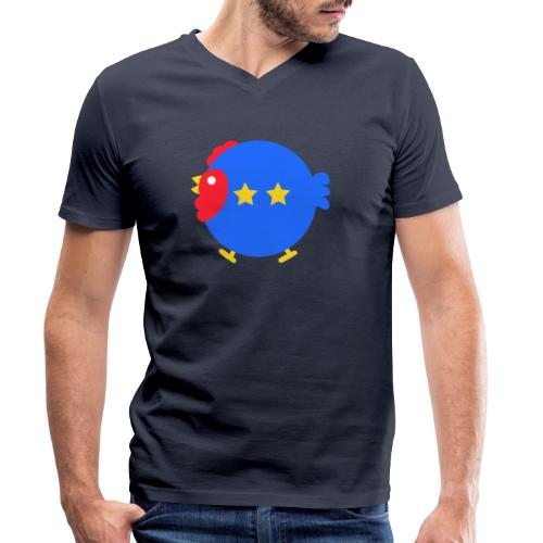 COQ 2 ETOILES - T-shirt bio col V Stanley & Stella Homme