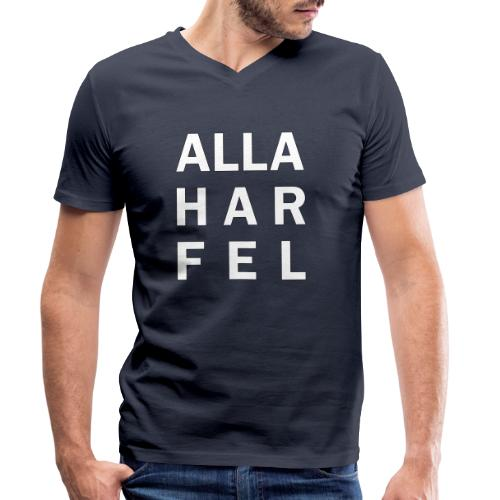 Alla har fel - Ekologisk T-shirt med V-ringning herr från Stanley & Stella