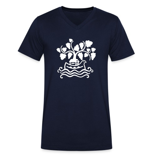 CommunautedelArche_Screen - T-shirt bio col V Stanley & Stella Homme