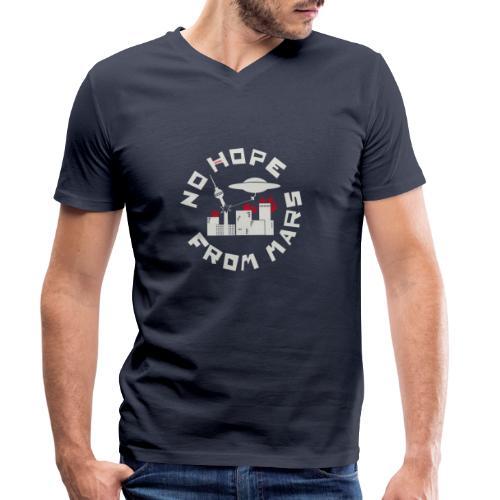 Berlin - No Hope From Mars - Männer Bio-T-Shirt mit V-Ausschnitt von Stanley & Stella