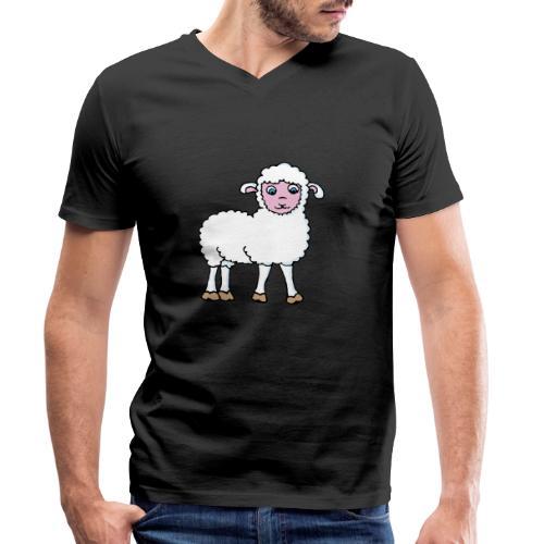 Minos le petit agneau - T-shirt bio col V Stanley & Stella Homme