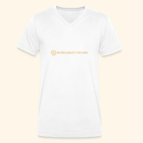Rudelhilfe Logo - Männer Bio-T-Shirt mit V-Ausschnitt von Stanley & Stella