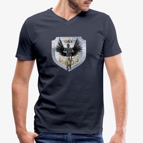 OutKasts PUBG Avatar - Men's Organic V-Neck T-Shirt by Stanley & Stella