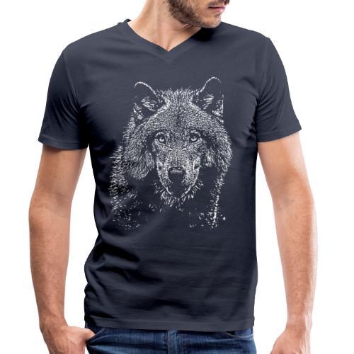 Wolf - T-shirt bio col V Stanley & Stella Homme