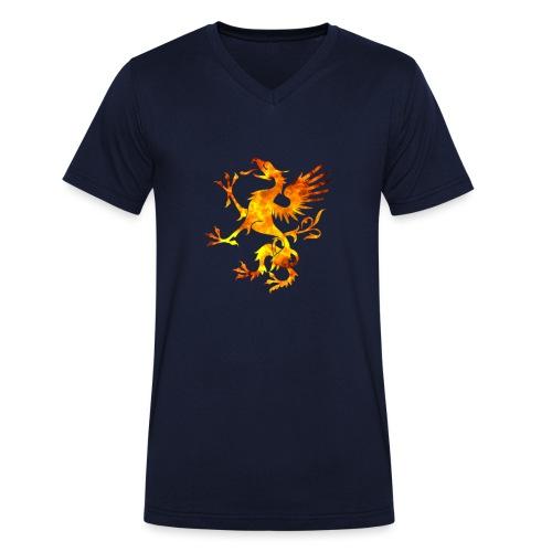 Viking Dragon Symbol Blood Norse Vikings Gift - T-shirt bio col V Stanley & Stella Homme
