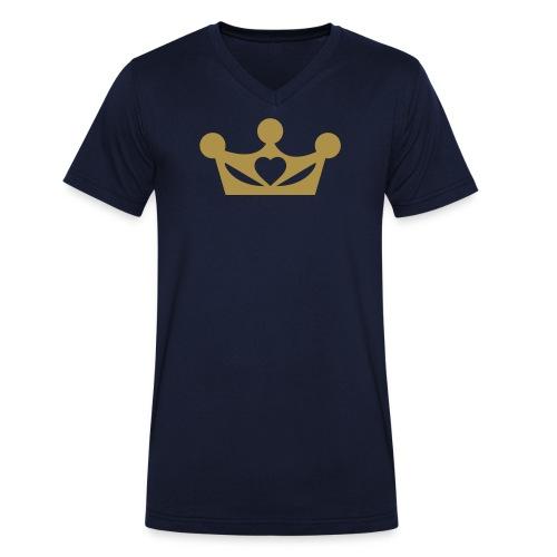 liefderijk - Mannen bio T-shirt met V-hals van Stanley & Stella