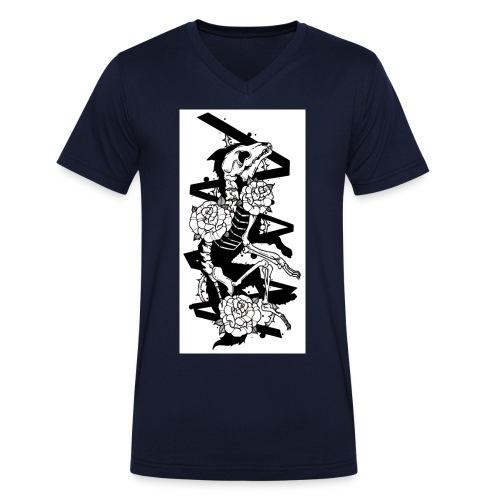 Dead Wolf - T-shirt bio col V Stanley & Stella Homme
