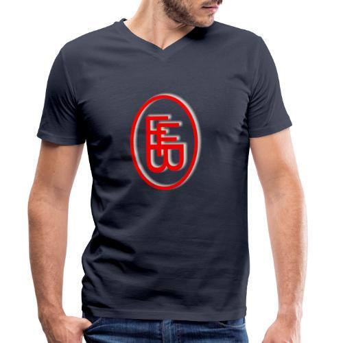 FFB Logo Standart - Männer Bio-T-Shirt mit V-Ausschnitt von Stanley & Stella