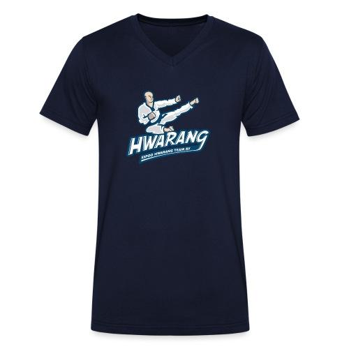 Hwarang logo v2 - Stanley & Stellan miesten luomupikeepaita