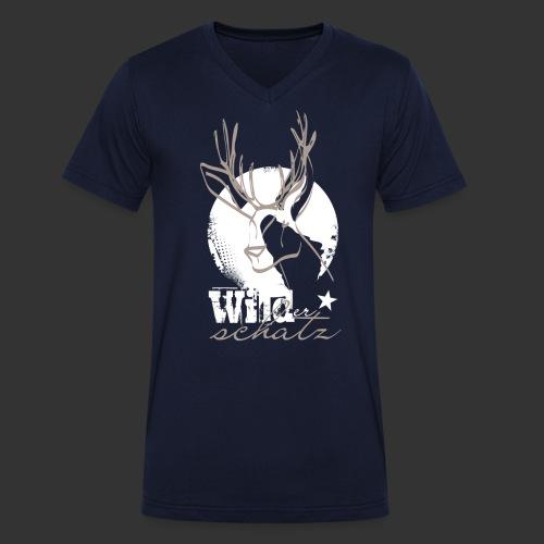 Wilder Schatz - Männer Bio-T-Shirt mit V-Ausschnitt von Stanley & Stella