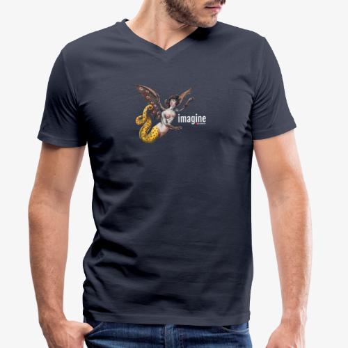 imagine - Männer Bio-T-Shirt mit V-Ausschnitt von Stanley & Stella
