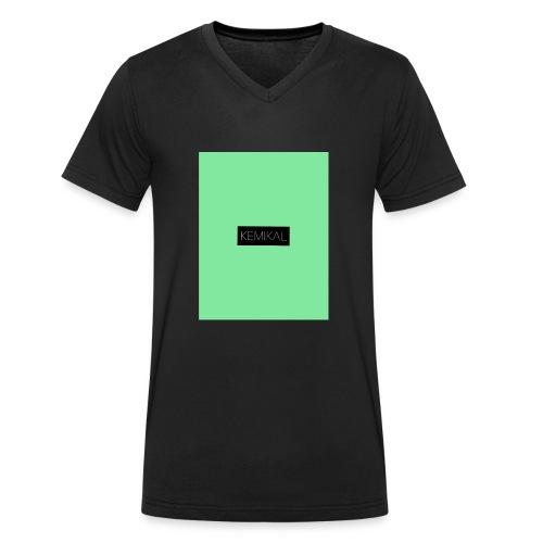 KEMIKAL - T-shirt ecologica da uomo con scollo a V di Stanley & Stella
