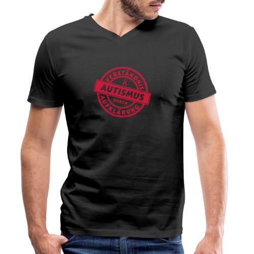 Verständnis durch Aufklärung - Männer Bio-T-Shirt mit V-Ausschnitt von Stanley & Stella