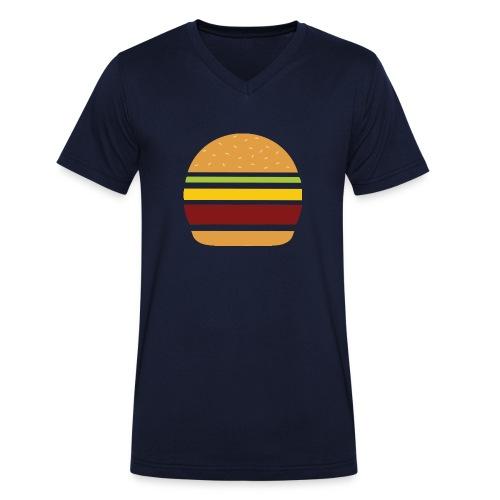 Logo Burger Panhamburger - T-shirt bio col V Stanley & Stella Homme