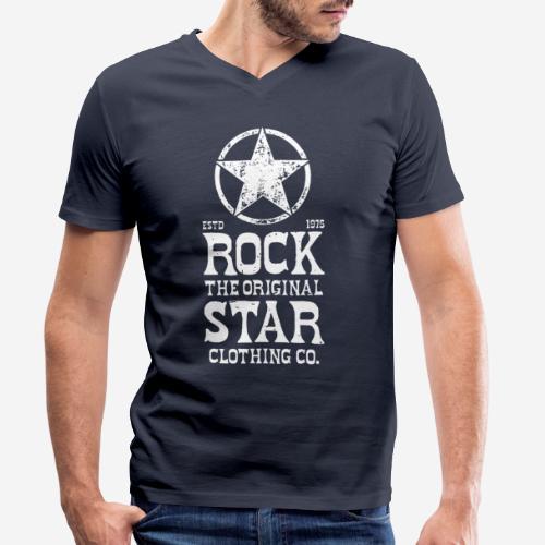 Original - Männer Bio-T-Shirt mit V-Ausschnitt von Stanley & Stella