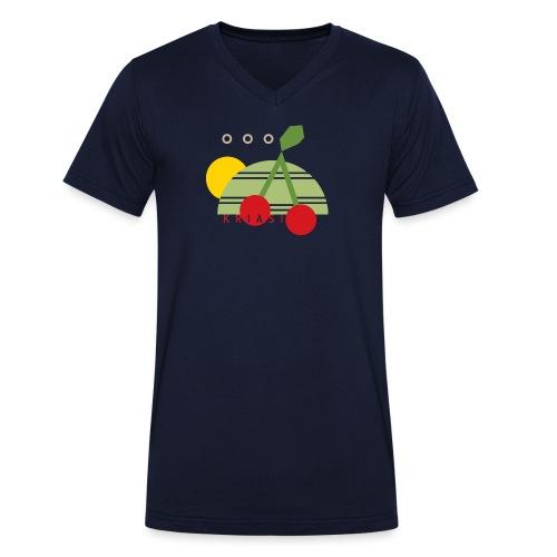 fraxern - Männer Bio-T-Shirt mit V-Ausschnitt von Stanley & Stella