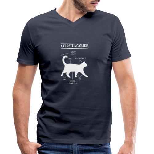 CAT GUIDE - T-shirt bio col V Stanley & Stella Homme