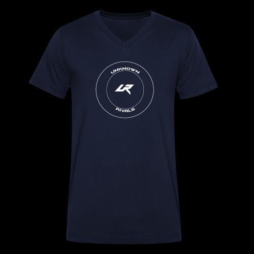 uR LOGO Kreis - Männer Bio-T-Shirt mit V-Ausschnitt von Stanley & Stella