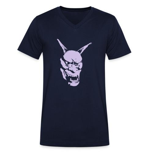 Hannya - Männer Bio-T-Shirt mit V-Ausschnitt von Stanley & Stella