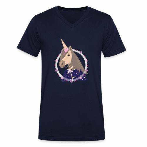 Pferdinand - Männer Bio-T-Shirt mit V-Ausschnitt von Stanley & Stella